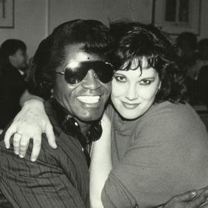 Martha Davis and James Brown!!