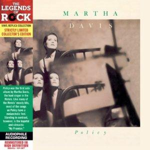 Martha Davis - Policy