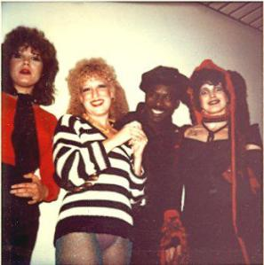 Martha Davis, Bette Midler, Wilson Pickett, and Lene Lovich