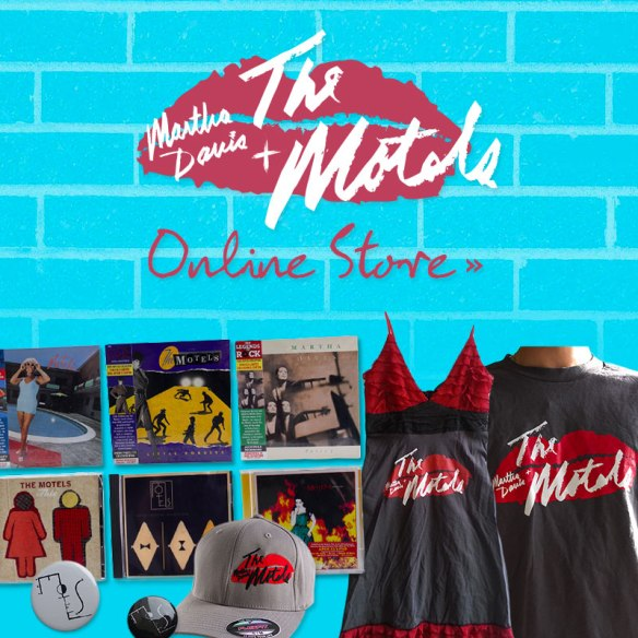 Martha Davis and The Motels Online Store