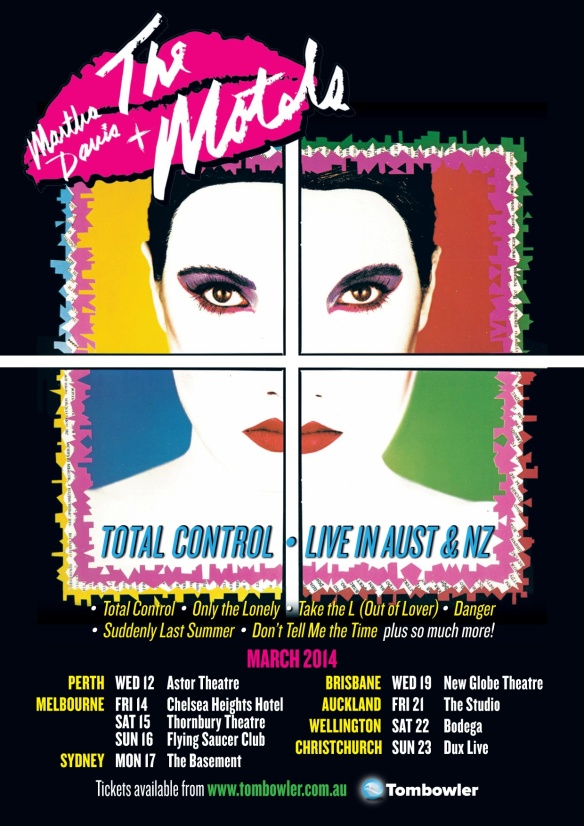 The Motels Australia Tour
